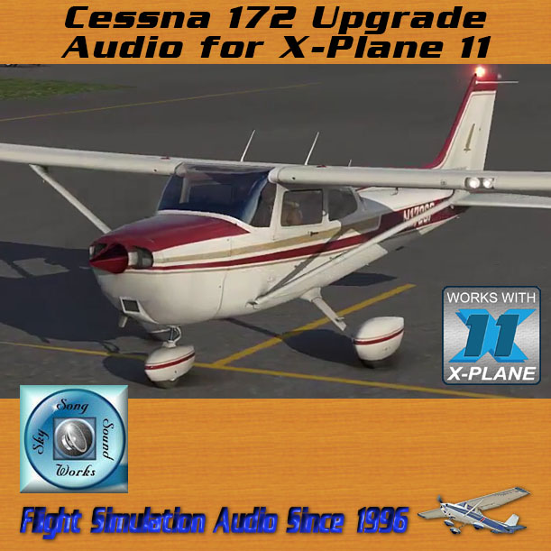 Skysong Soundworks – Cessna 172 Upgrade Audio for X-Plane 11