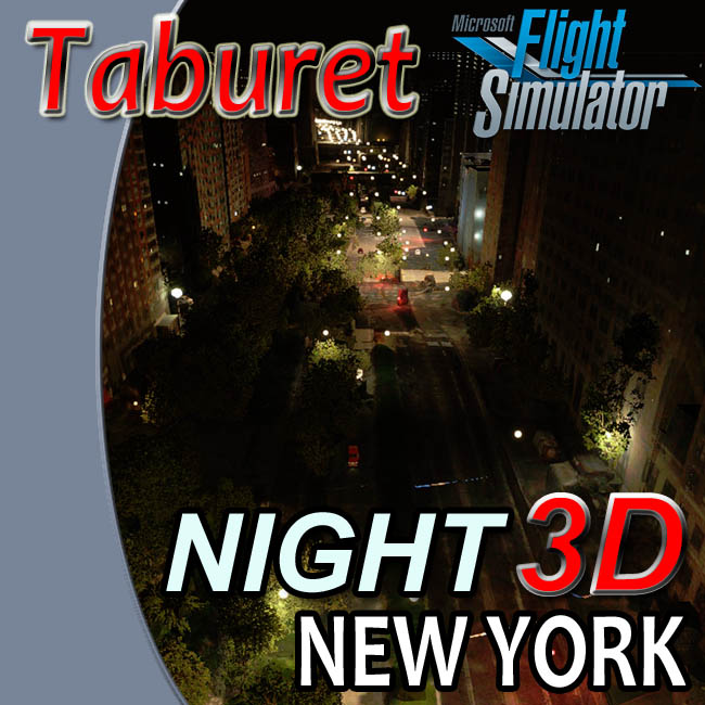 Taburet – Night3D New York State for MSFS