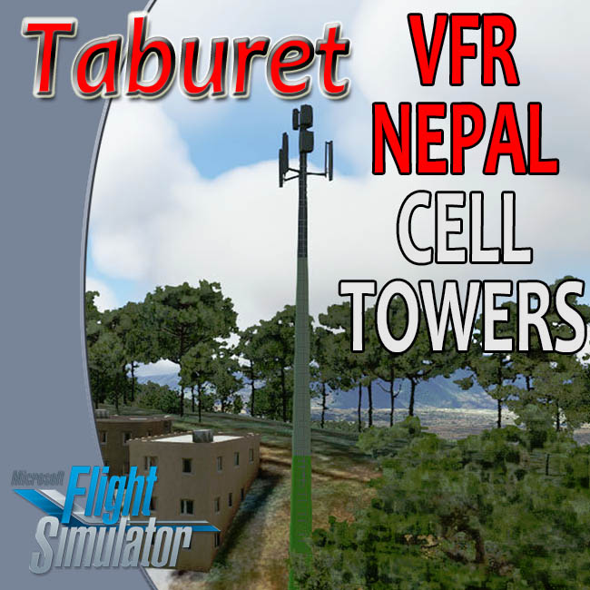 Taburet – Nepal Cellular Towers for MSFS