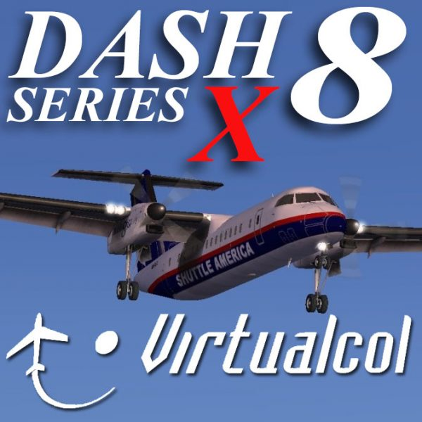 Virtualcol - DASH 8 Series X for FSX and P3D