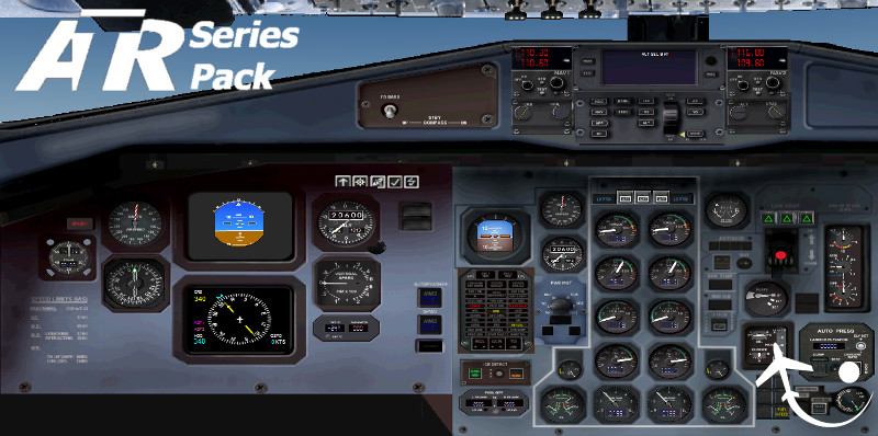 Virtualcol - ATR Series Pack for FS2004