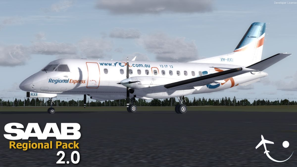 Virtualcol - SAAB Regional Pack v2 for FSX and P3D