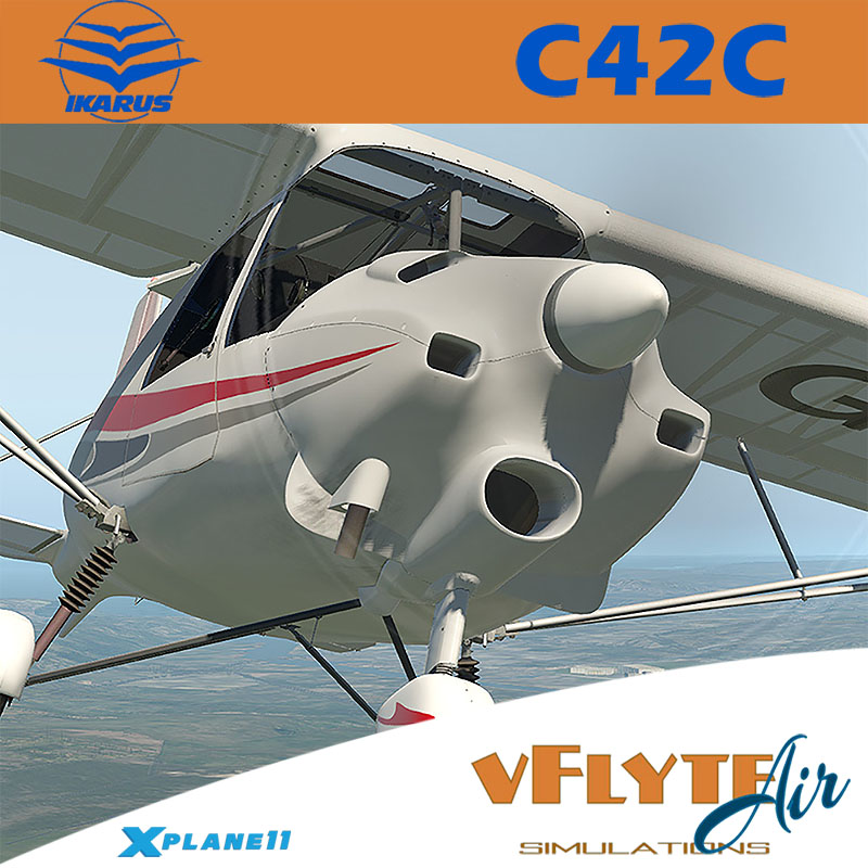 vFlyteAir Simulations - Ikarus C42C Ultralight