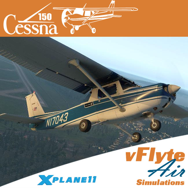 vFlyteAir Simulations – Cessna 150 Commuter for X-Plane 11