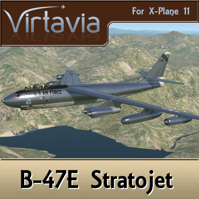 Virtavia - B-47E Stratojet for X-Plane