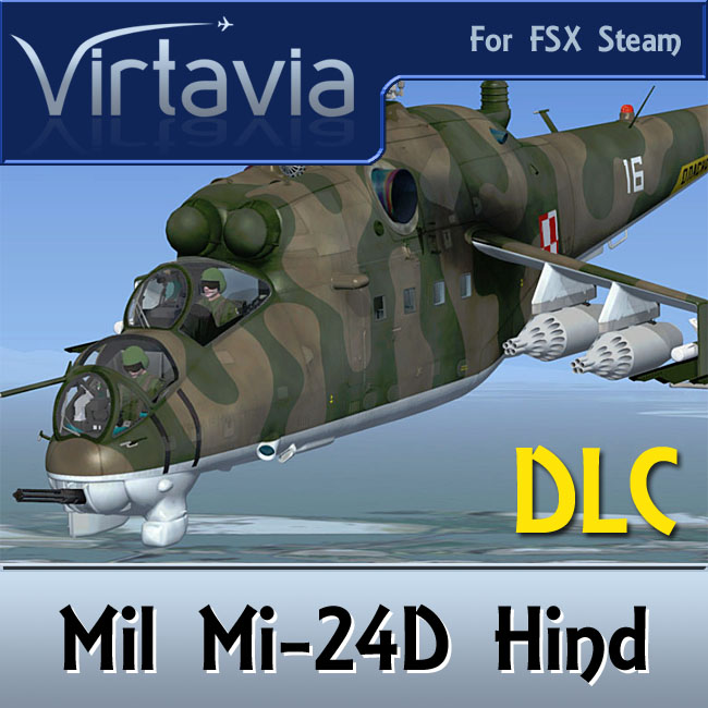 Virtavia - Mi-24D Hind FSX Steam Edition DLC Package